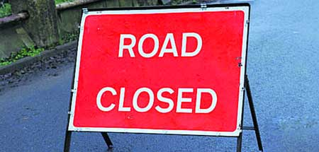 Closure Little Lawford Road on 11th August