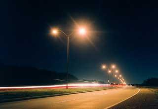Christmas Street Lighting