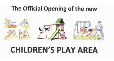 Children's Play Area Opening