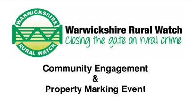 Community Engagement & Property Marking Event