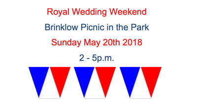 Royal Wedding Weekend Brinklow Picnic in the Park