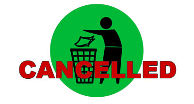 Litter Pick Cancelled